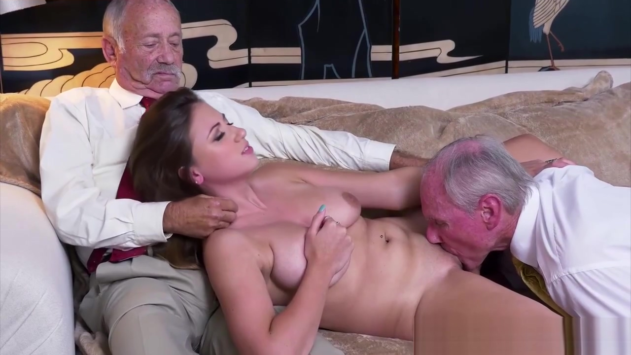Busty amateur fucked and facialized by oldman It's all in the family