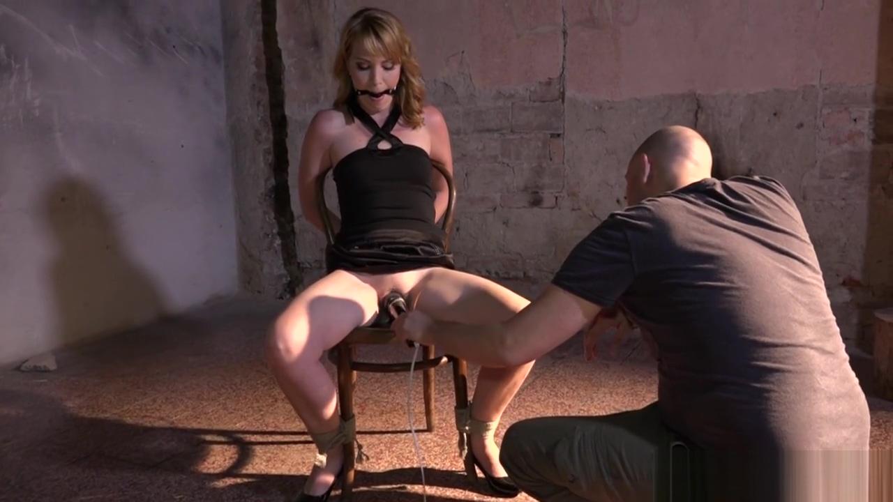 Gagged sub tormented by mean maledom