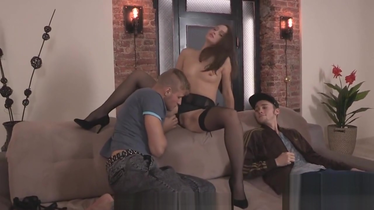 Flat broke lover allows horny pal to pound his exgirlfriend for hard cash 2 milf lesbians