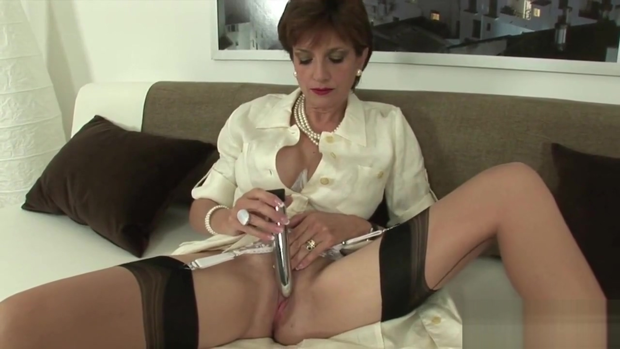 Adulterous english milf lady sonia pops out her enormous naturals Flat mature porn