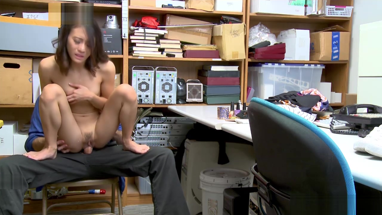 Sucking a huge cock could be yucky for busted shoplyfter Jasmine Grey Asian girl massage