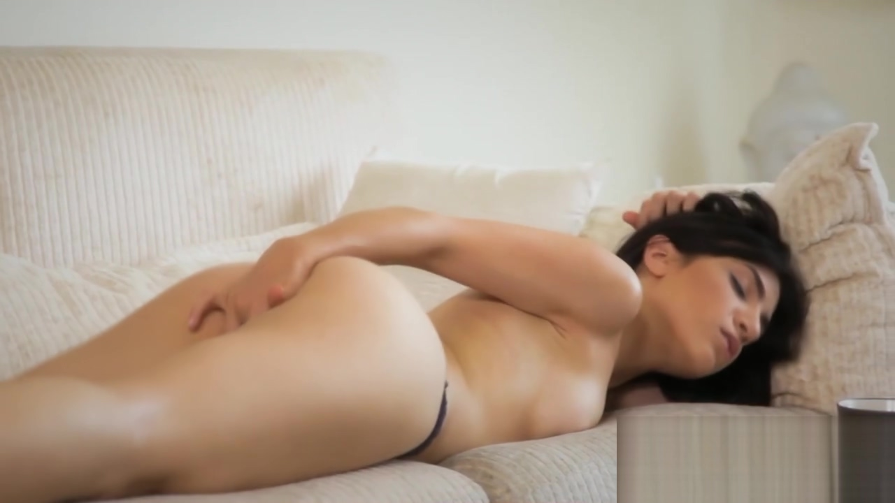 Hot brunette sits on her white couch to finger her hungry cunt Arun nalawade wife sexual dysfunction