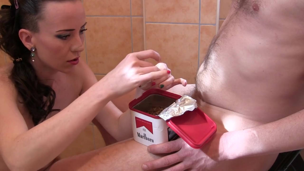 Rolling & Smoking Handjob by Beauty Euro Brunette Milf Sylvia Chrystall. HD characteristics of a highly sexed woman