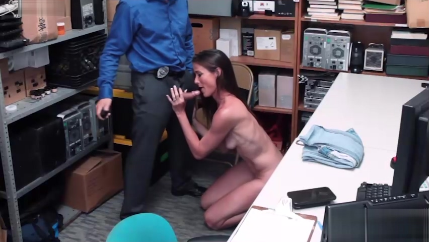 Perverted LP officer banged a wet mature in his office Horny dude questions his girlfriend for the night