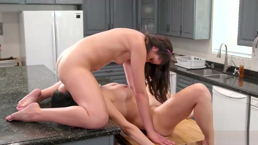 Teen licked by stepmom in the kitchen Beach bikini laur pool tanning