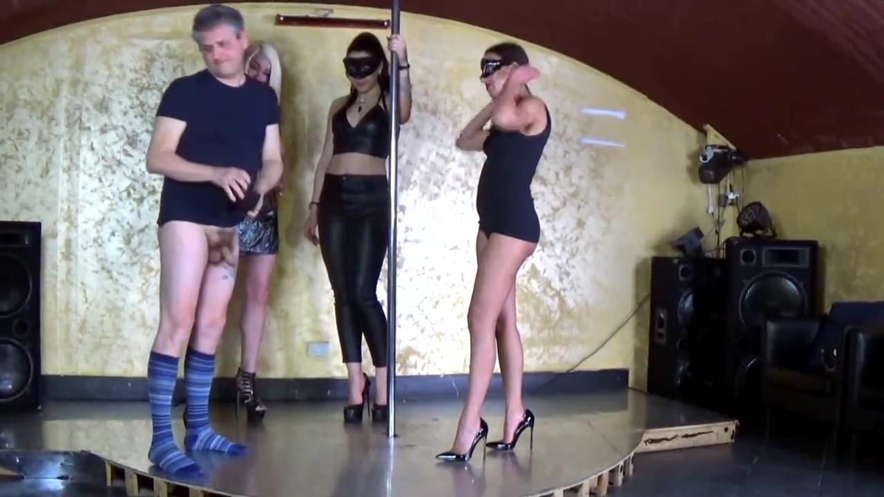 Jannyfer Cruel and Friends - Extreme Ballbusting Trio - Sadika