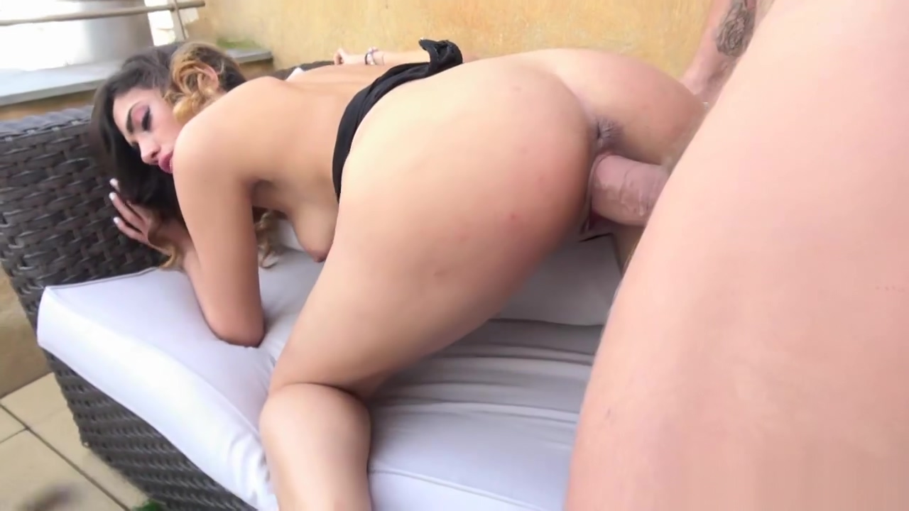 Penelope gives Nachos huge cock a blowjob and gets nasty Naked beutiful big tits