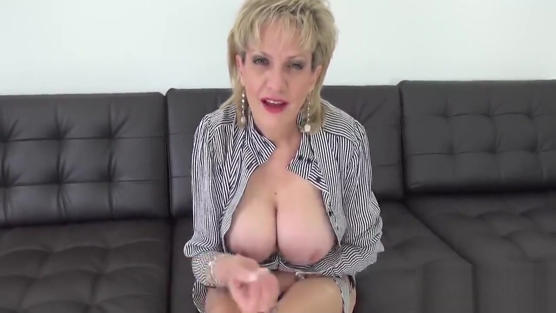 Adulterous english milf lady sonia showcases her enormous knockers