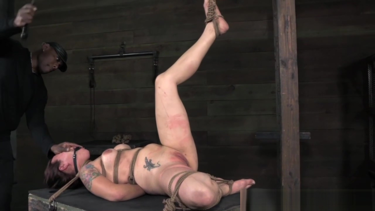Tattood tied up sub paddled on pussy Dominant milf with huge boobs takes revenge