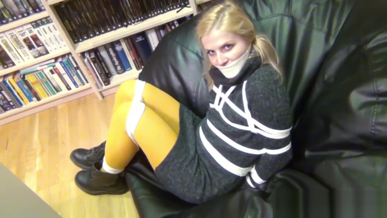 Sweater dress wool bondage Lesbian irrumation stimulation