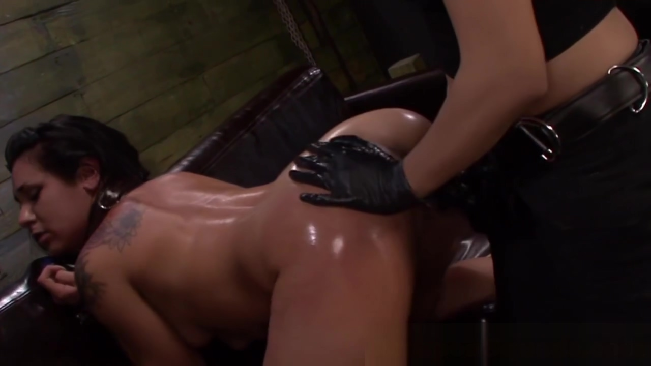 Stupid sub straponfucked in trio by dominas Girl Panty Fuck