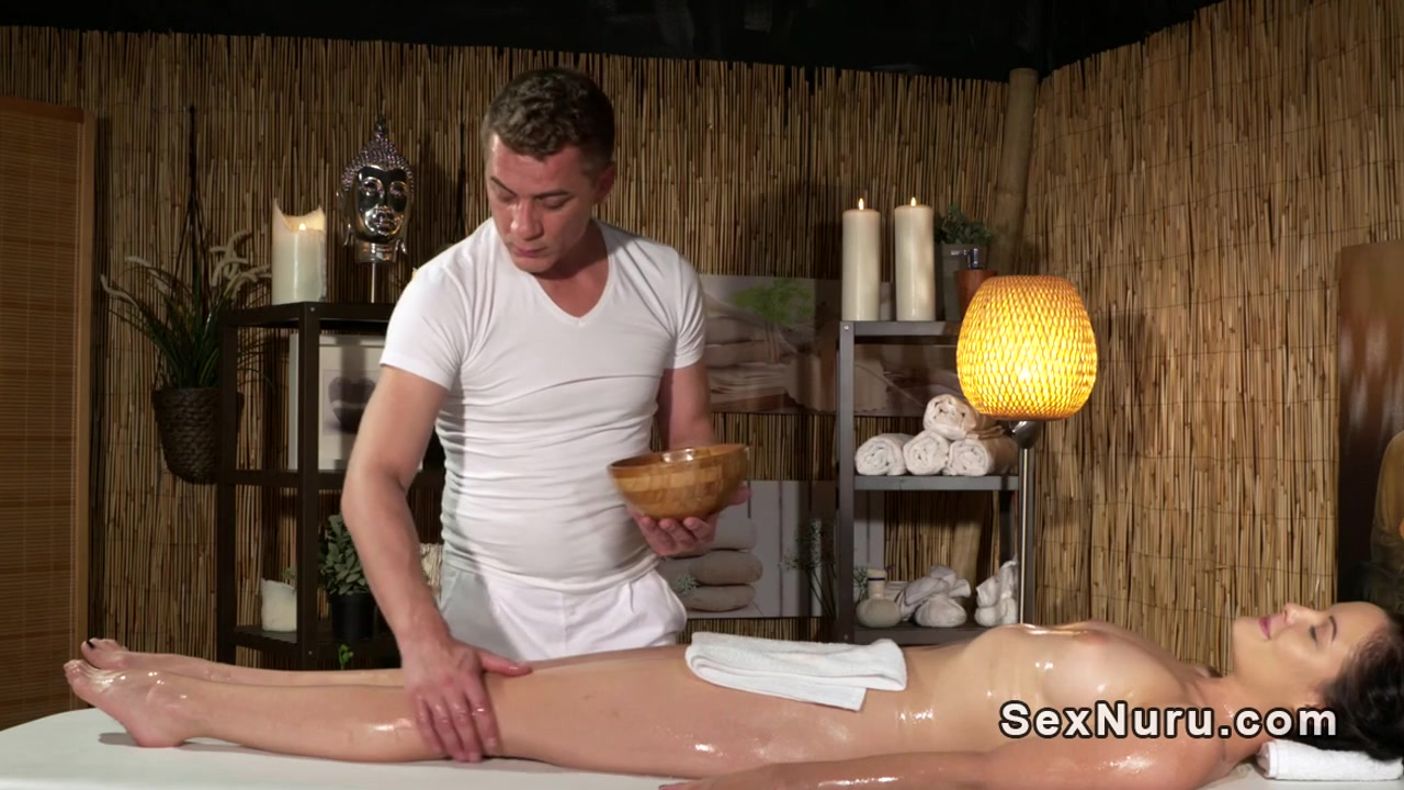 Oiled brunette gets masseurs cock from behind Nudist camp in tennessee