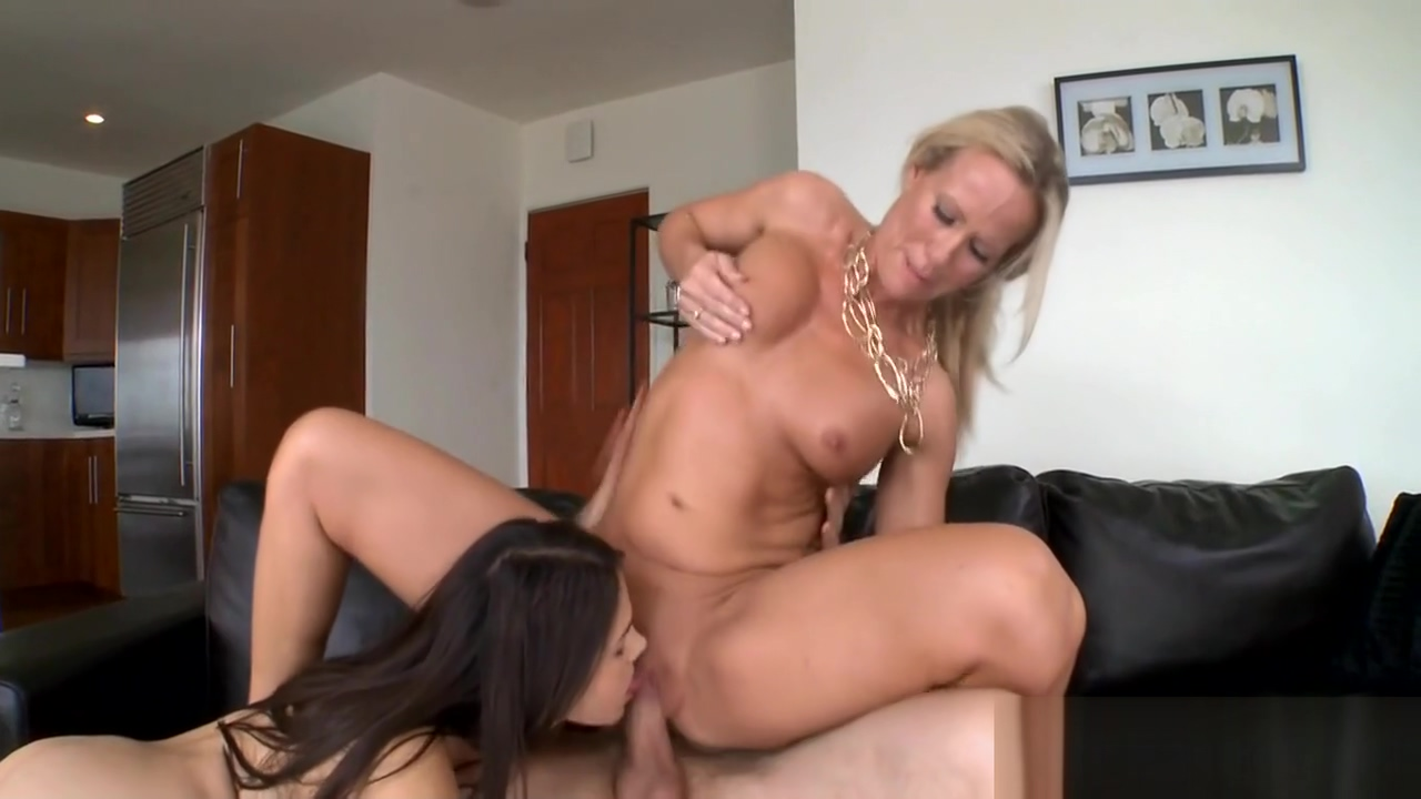 Lusty workout with hot milf Two Blondes Enjoy Each Other