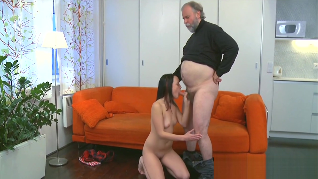 Cute young gal fucked by old guy ????? ????? ???