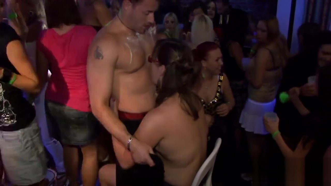 Captivating orgy party