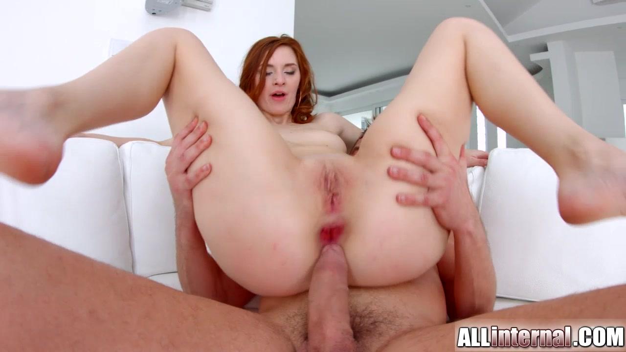 Allinternal long legged redhead gets a creampie Free rough bdsm vid sites