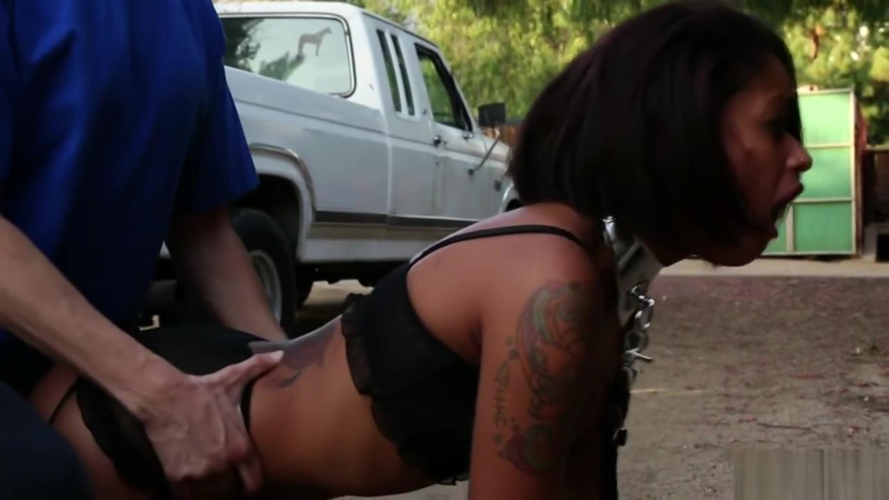 Sexy ebony babe Skin Diamond sucks and fucks a fat cock Girlfriend pussylicking and fingering lesbian