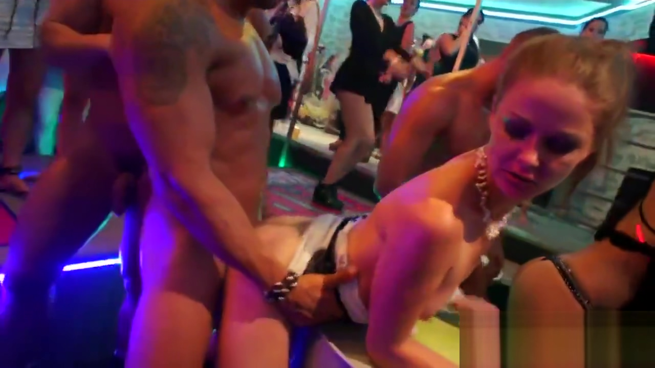 Horny nymphos get totally insane and naked at hardcore party Getting laid in Slave