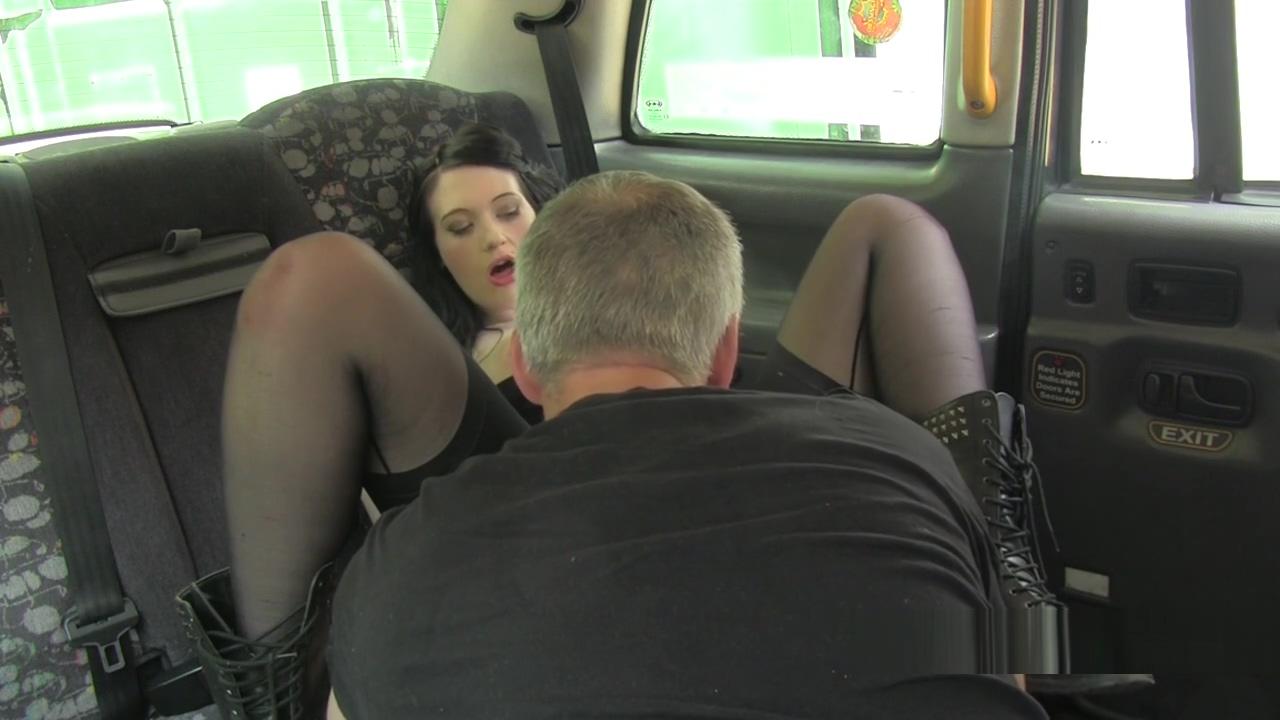 Dark haired hottie banged in fake taxi Female Masturbation Instructional Video