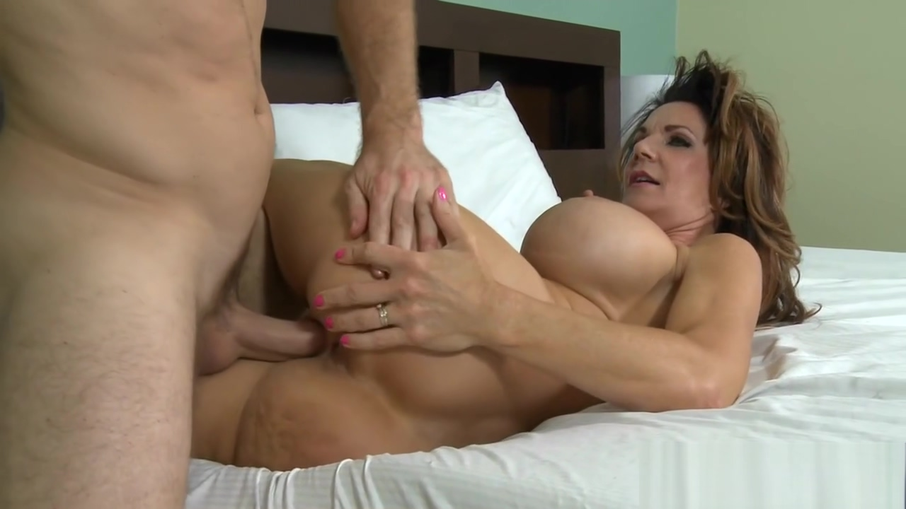 Naughty MILF is all about sex Mature pantyhose porn video