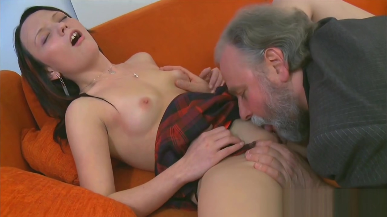 Horny old dude teases young babe download boy girl sexy video in bed