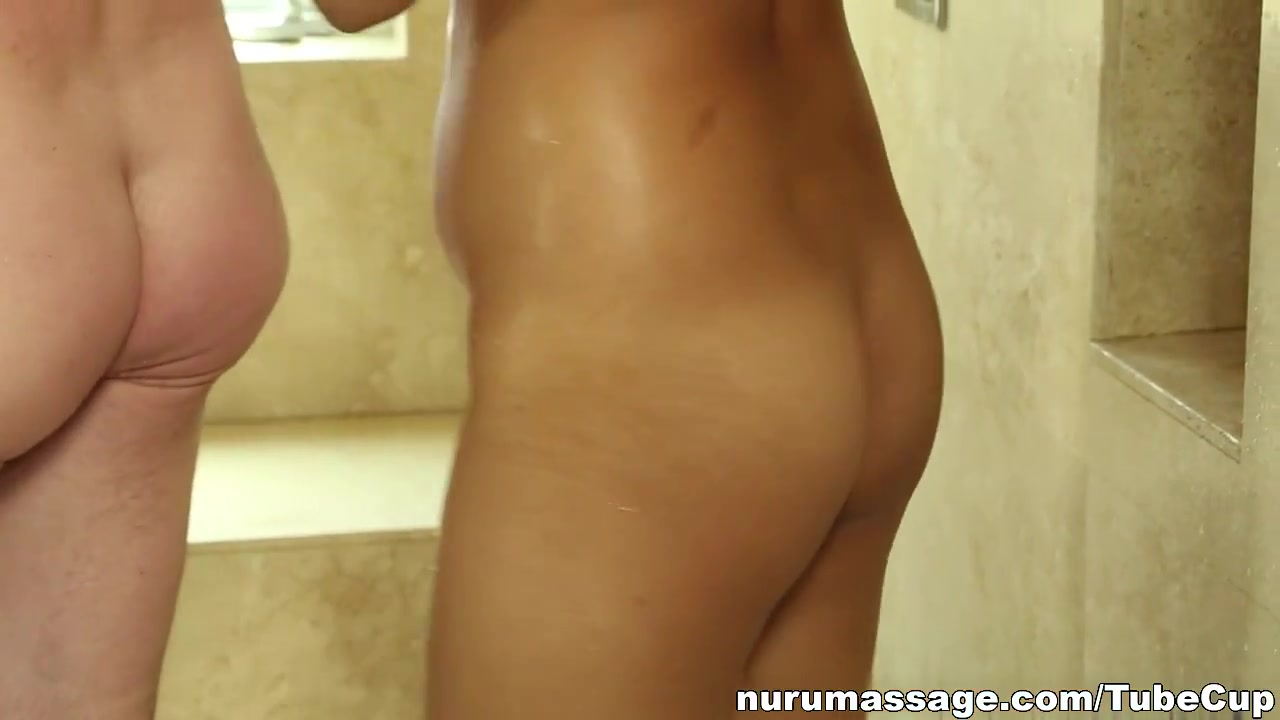 Rino Sayaka sucks cock in bathroom Sex photo