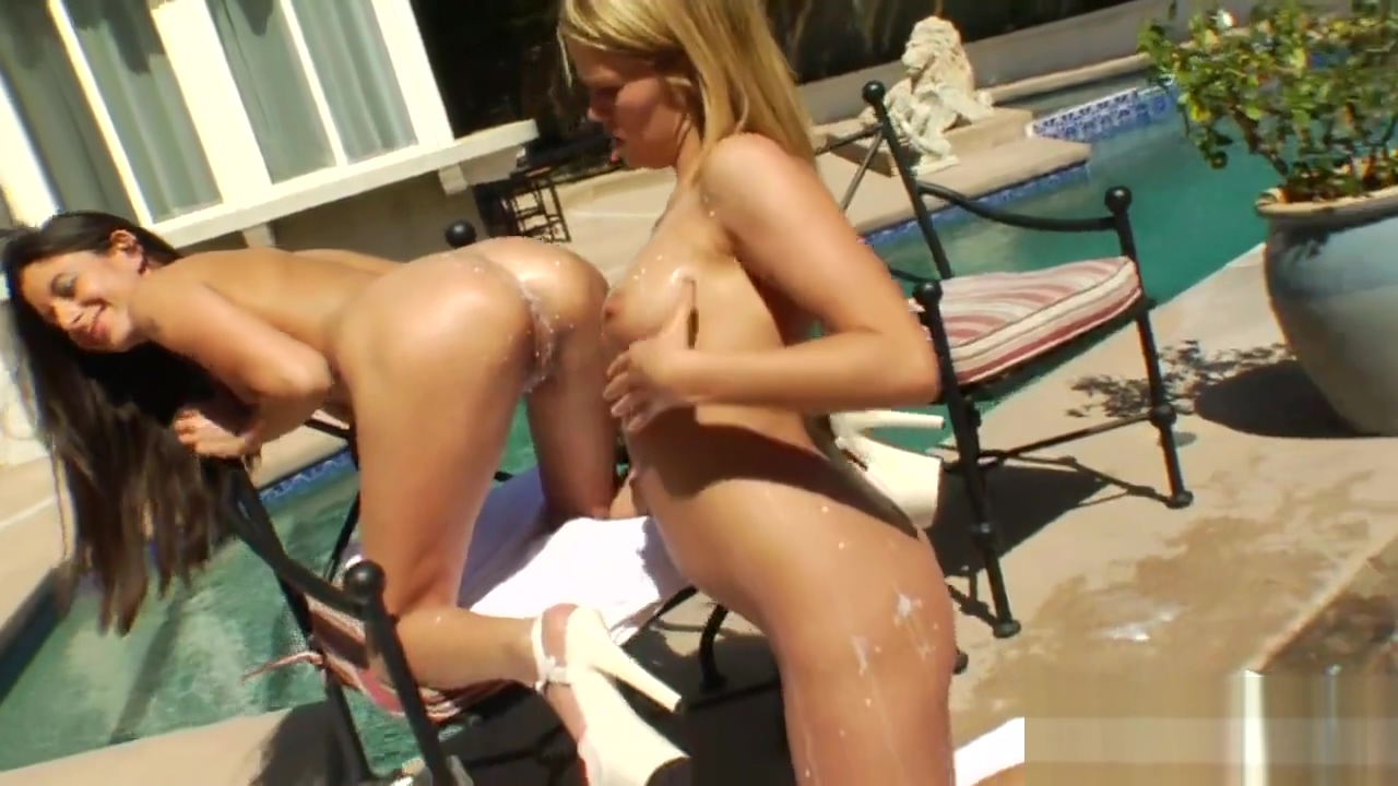Hot lesbians fill up their oversized fannys with milk and squirt it out Ebony black pussy clips