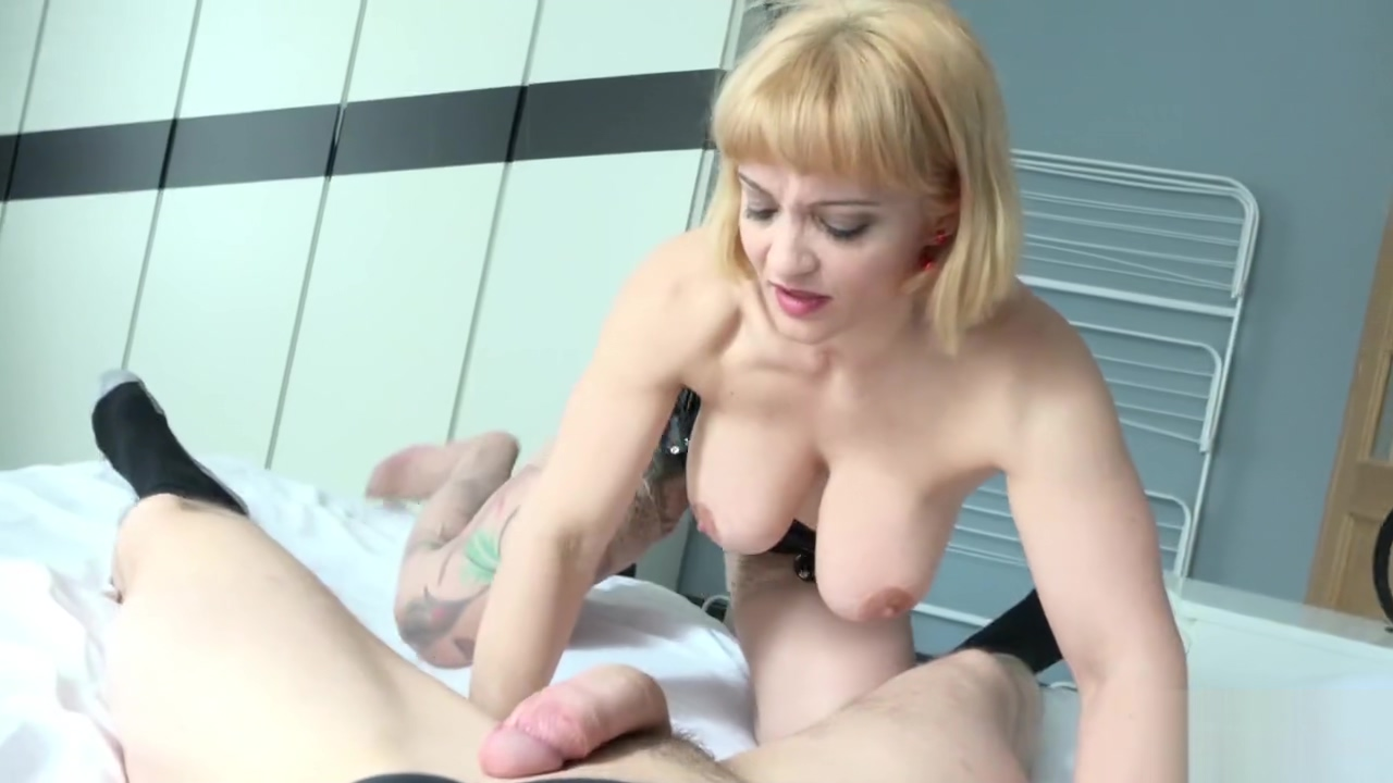 Step Mom Mary Caught Son Masturbate and Help him to Cum When Dad Away