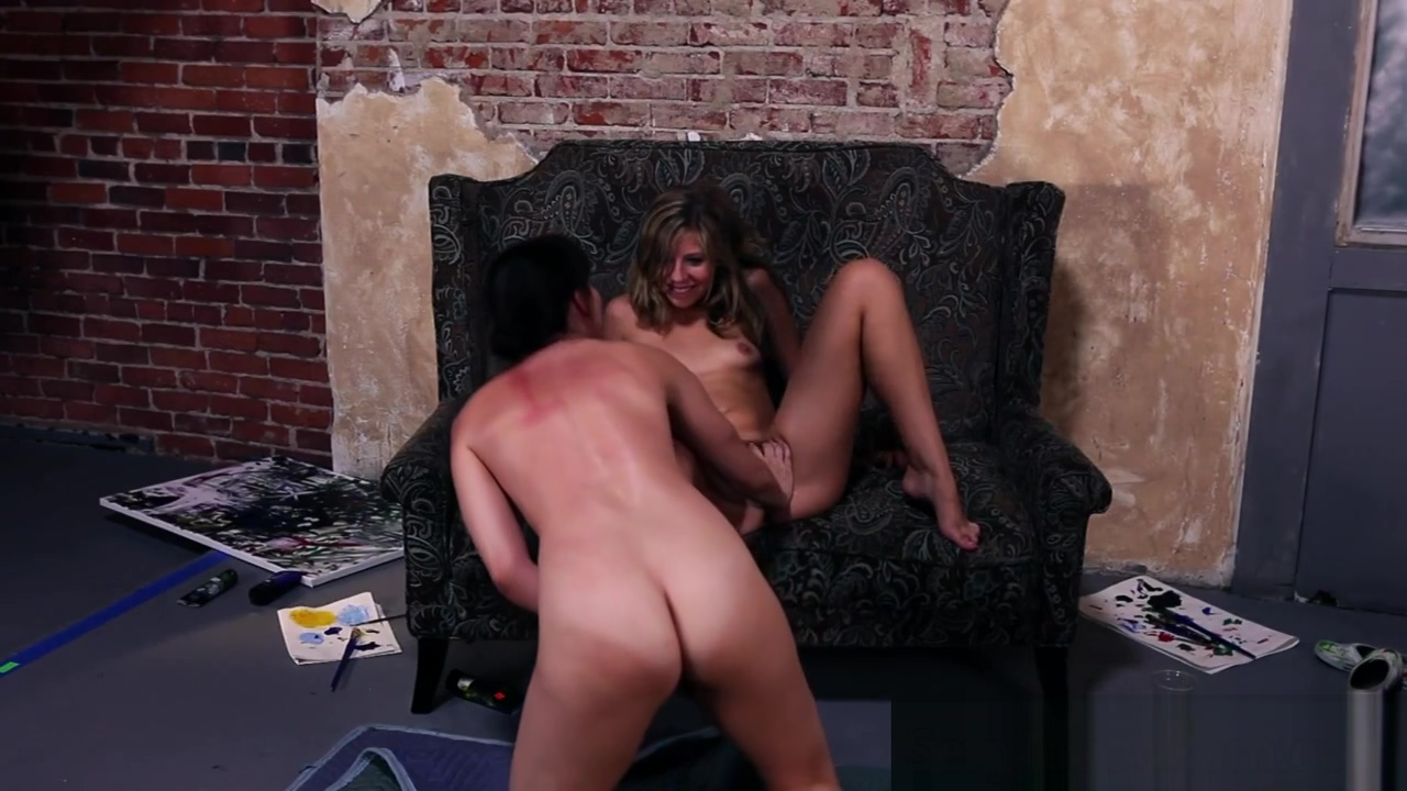 Lesbian beauties passionately pussyeating