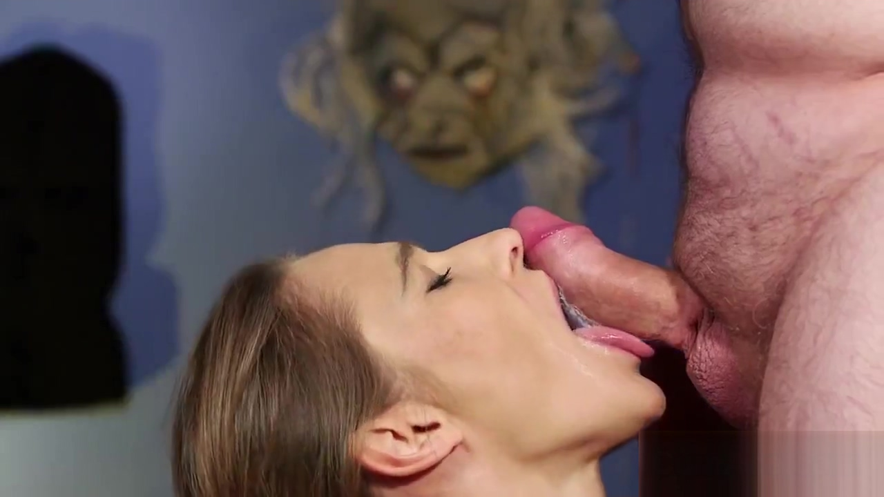 Peculiar model gets cumshot on her face swallowing all the jizm Seduced by gynecologist