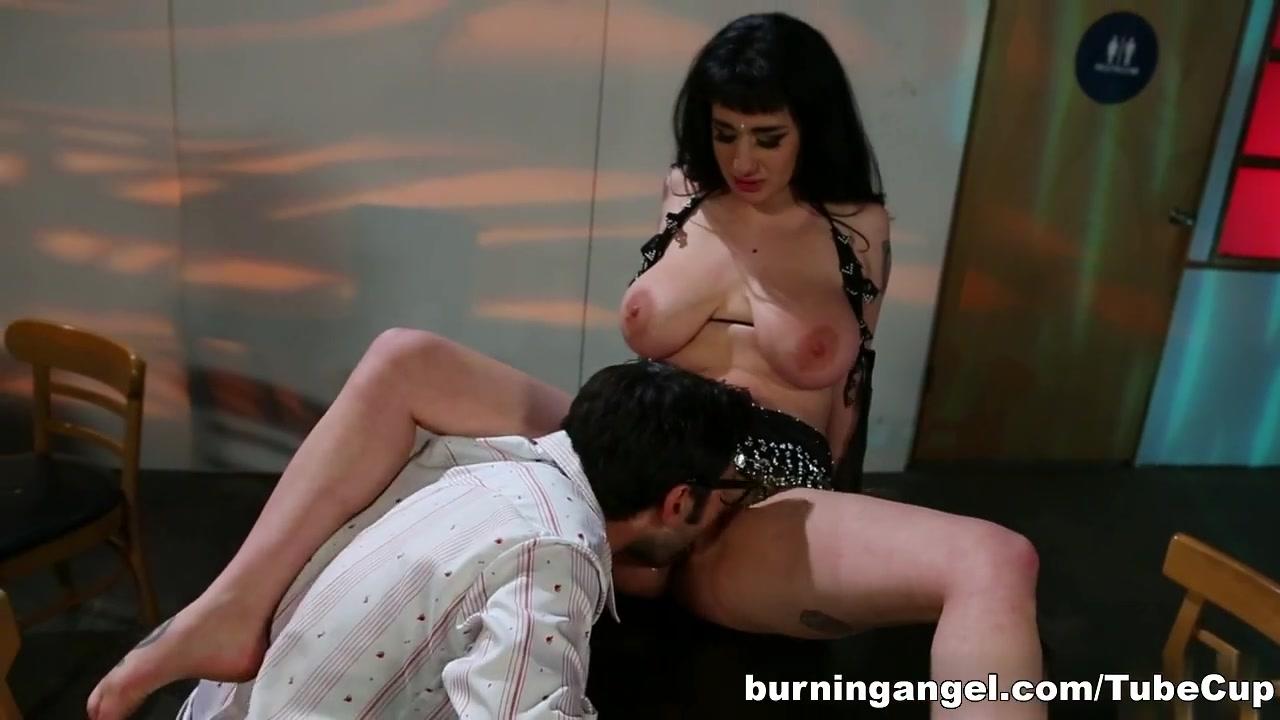Sexy milf strokes this big prick Nude 18+