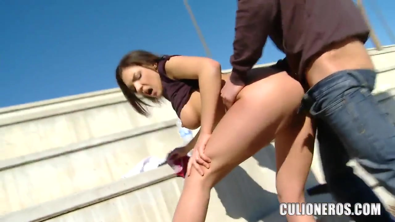 Public fuck with sexy brunette Henessy How to fuck naked steps