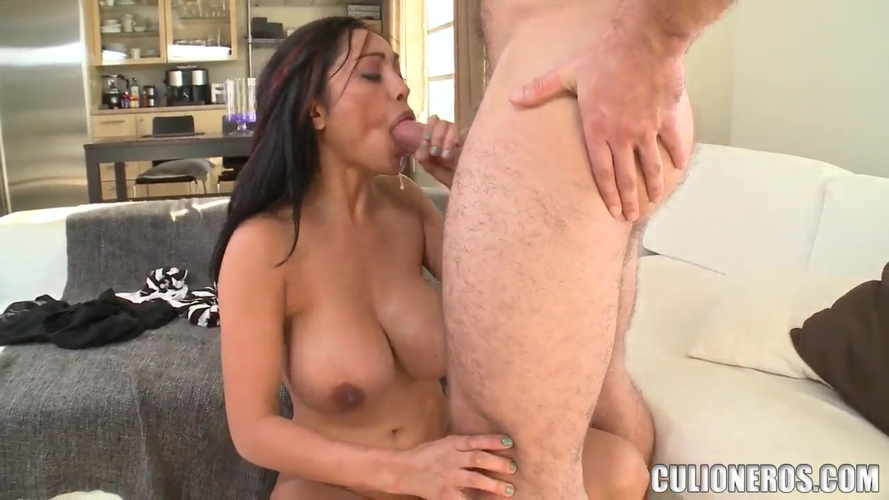 Adult Videos Charming darling is sampling a hard dong hungrily