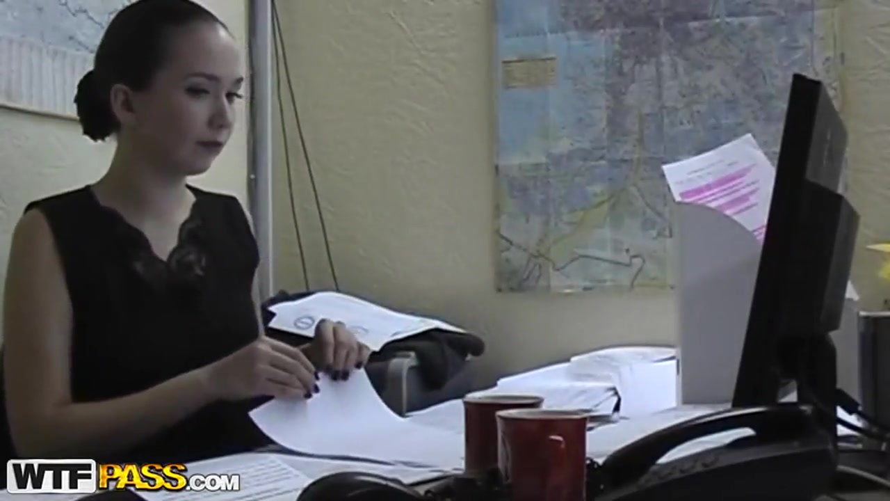 Girl double dildo wearing picture