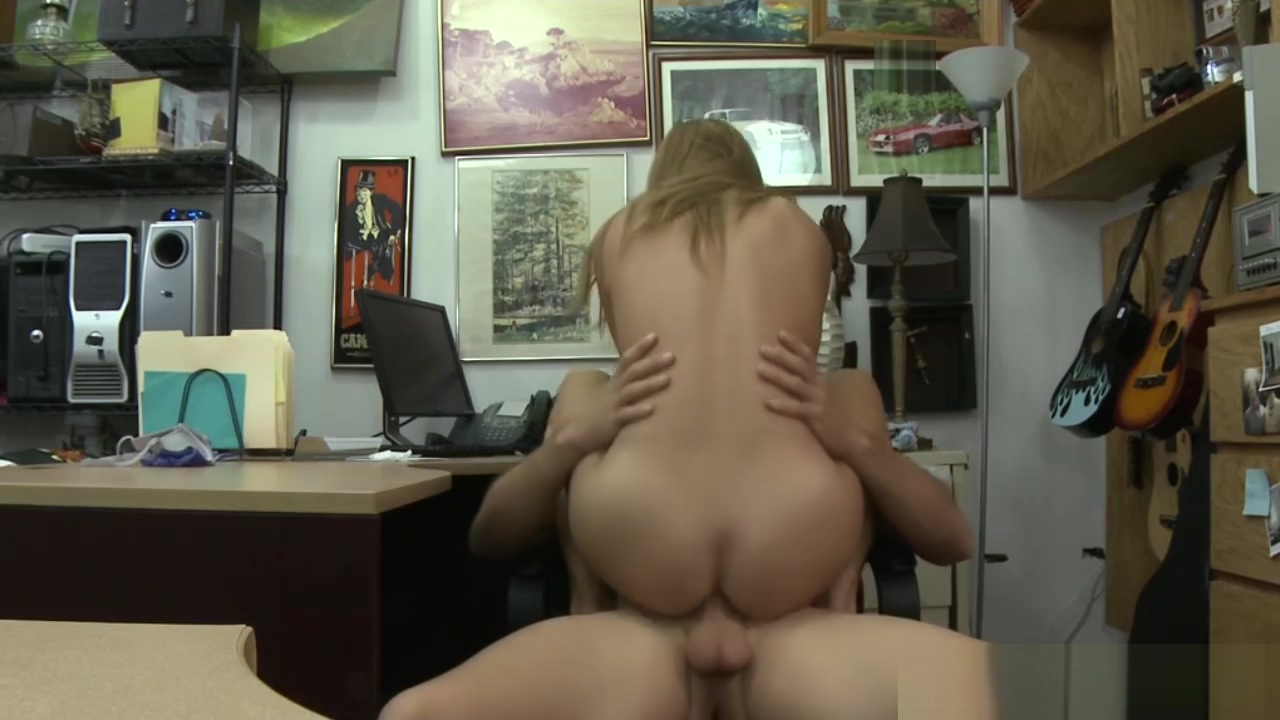 Hot Blonde bimbo gets a huge dick in the pawnshop Sexy nurse uniforms