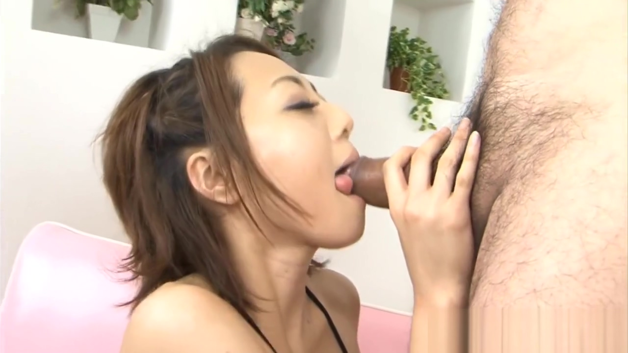 Asians wild toying and blowjob