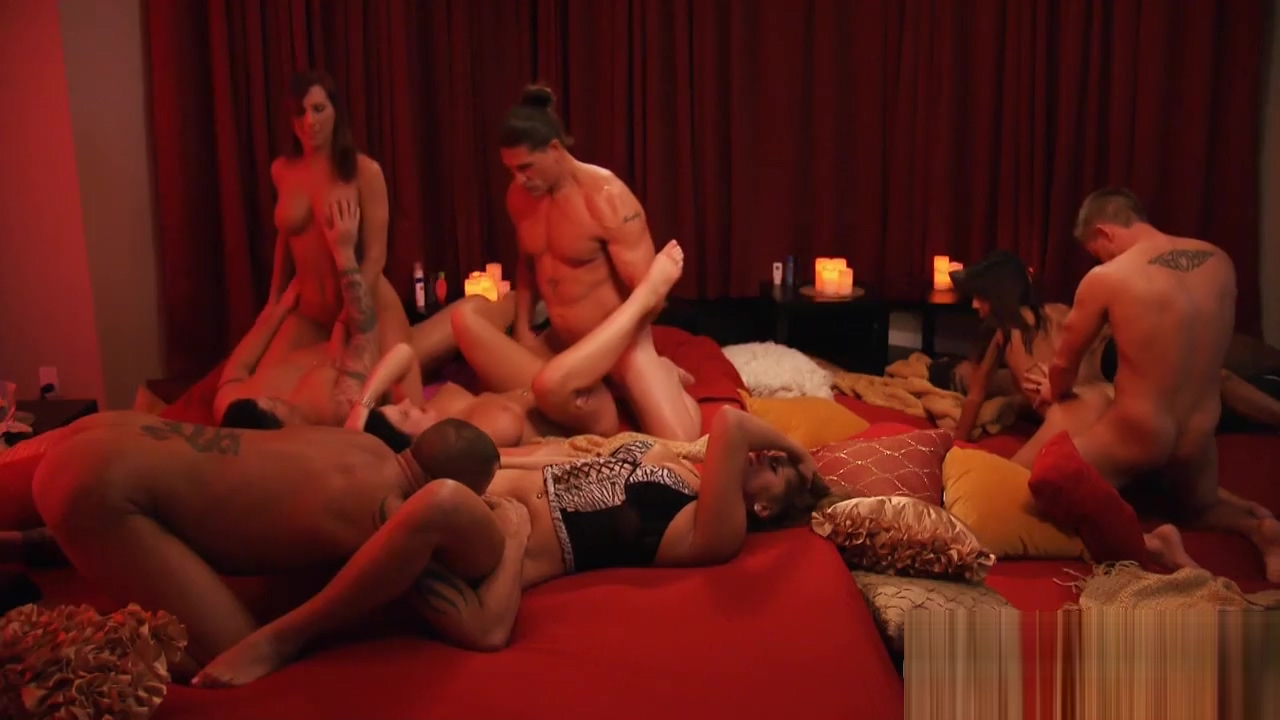 Group of nasty swingers swap partner and big group sex Foxygf com