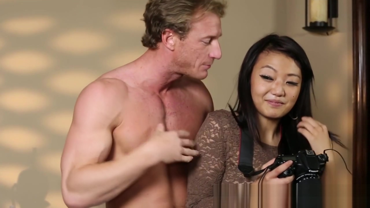 Lovely asian babe banged by her masseur