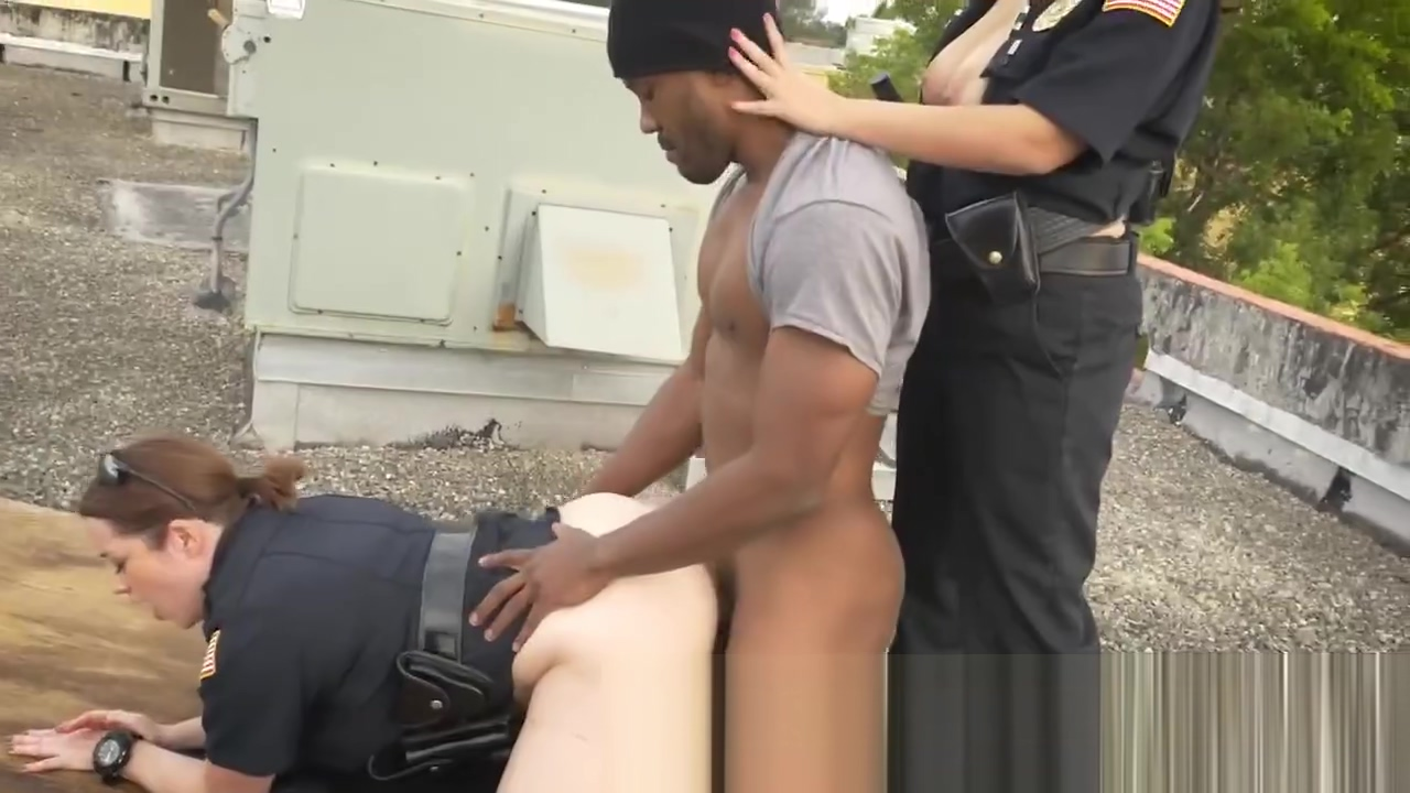 Hot cop talked into banging black dude anime sex vids pic