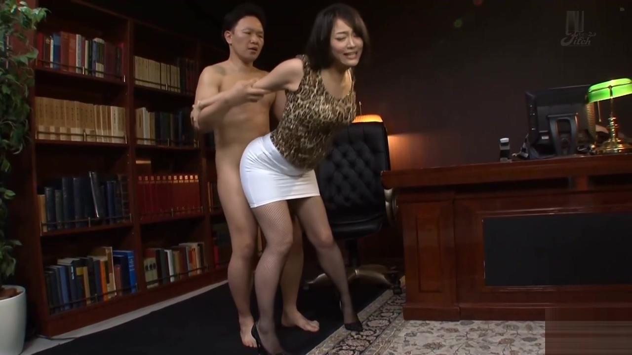 Japanese Office Slut Fucked Hard