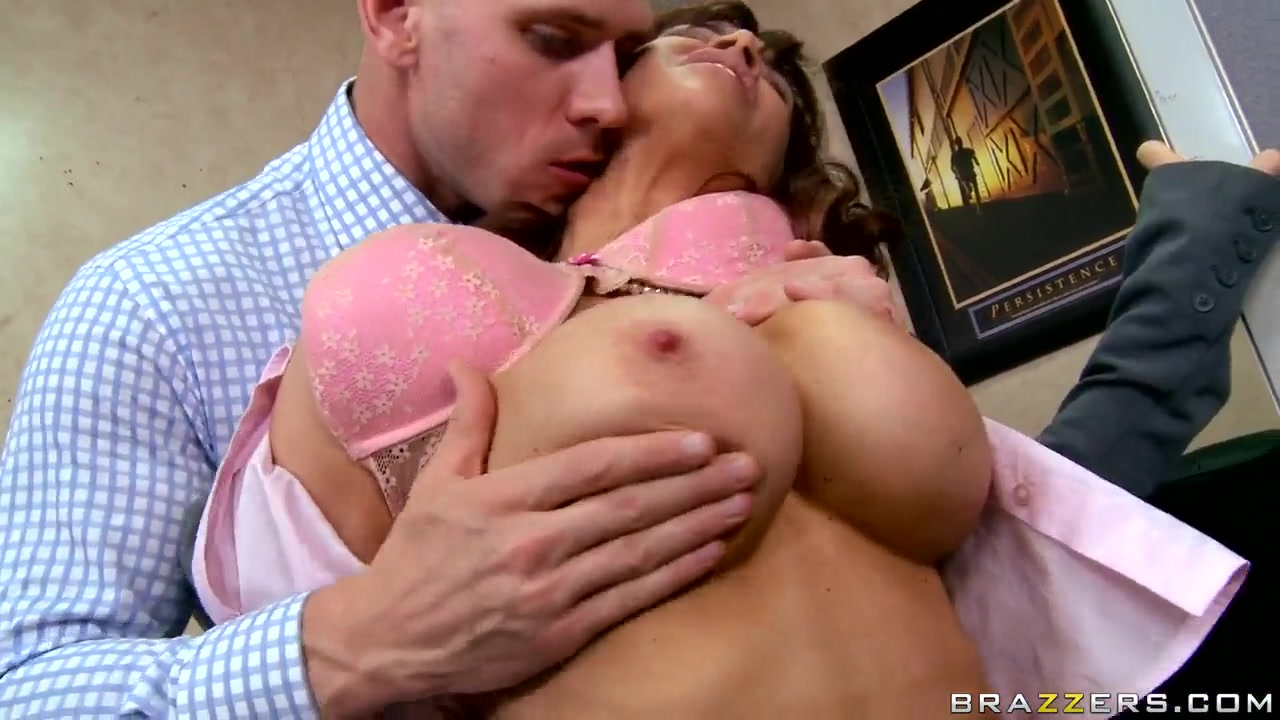 Office flirting takes a surprisingly hot turn ava addams kendra lust