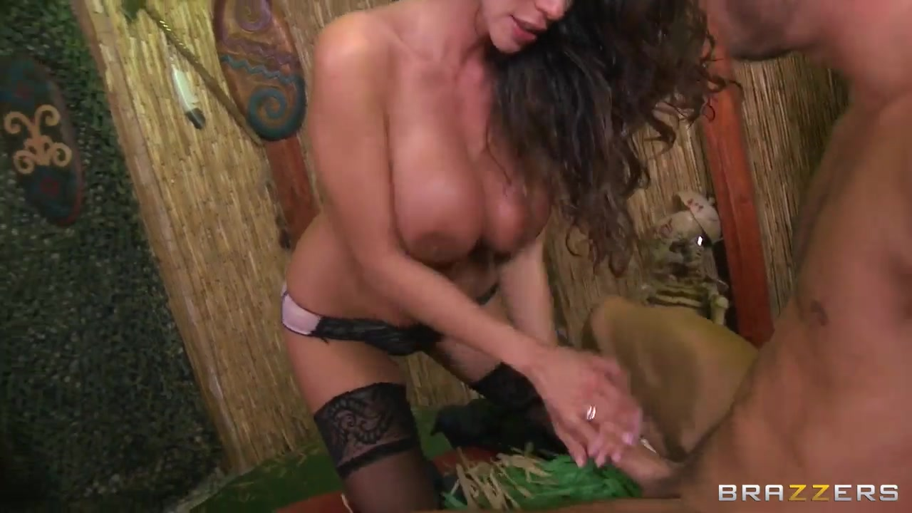 Busty Ariella Ferrera and Danny Mountain in hard session Fat granny with big tits