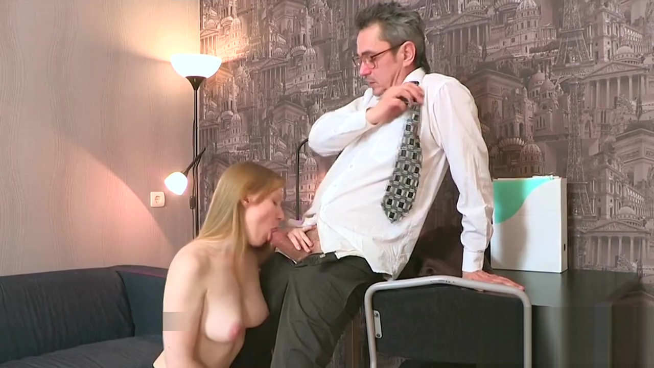 Elegant bookworm gets seduced and penetrated by older lecturer Bruce venture cum