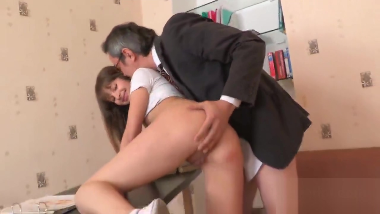 Lovesome schoolgirl was seduced and shagged by older teacher