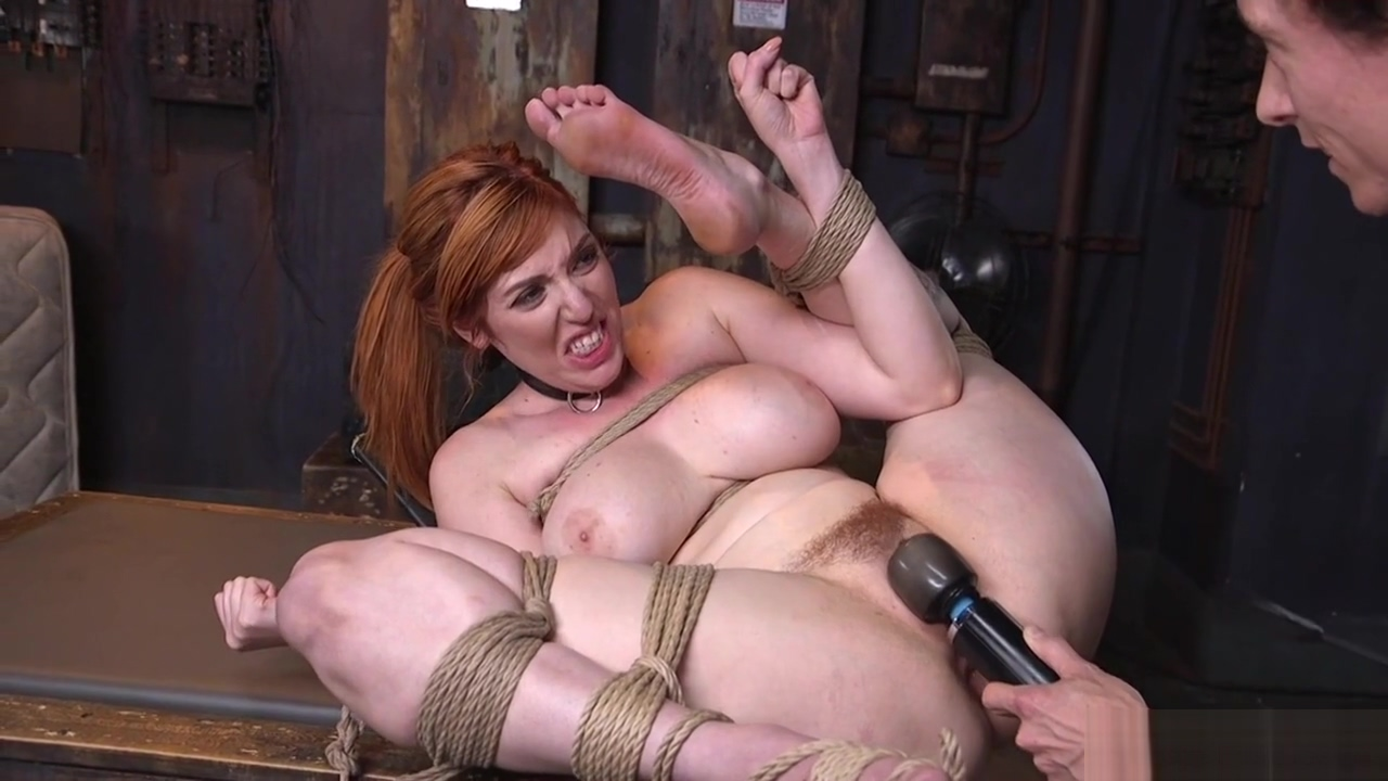 Busty redhead slave round ass fucked