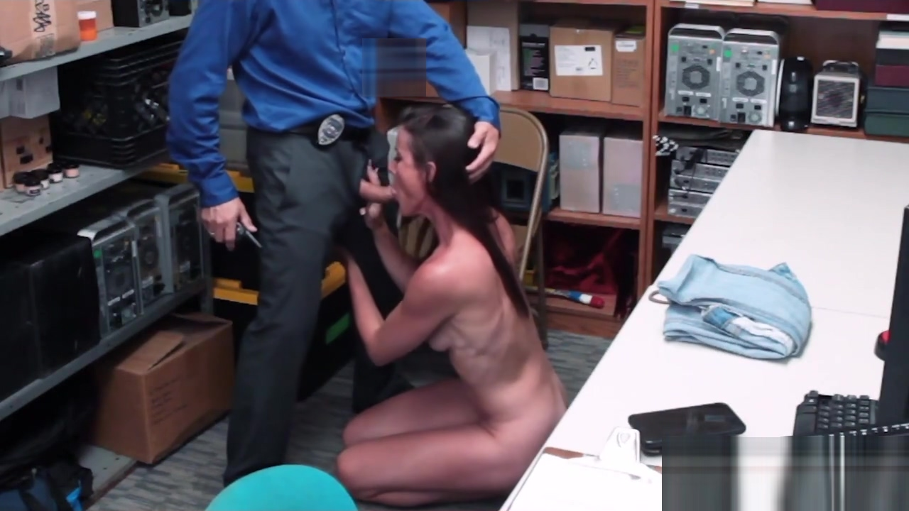 Sofie Marie is caught by horny rough officer when shoplifting hot sexy women wild sex with boy video