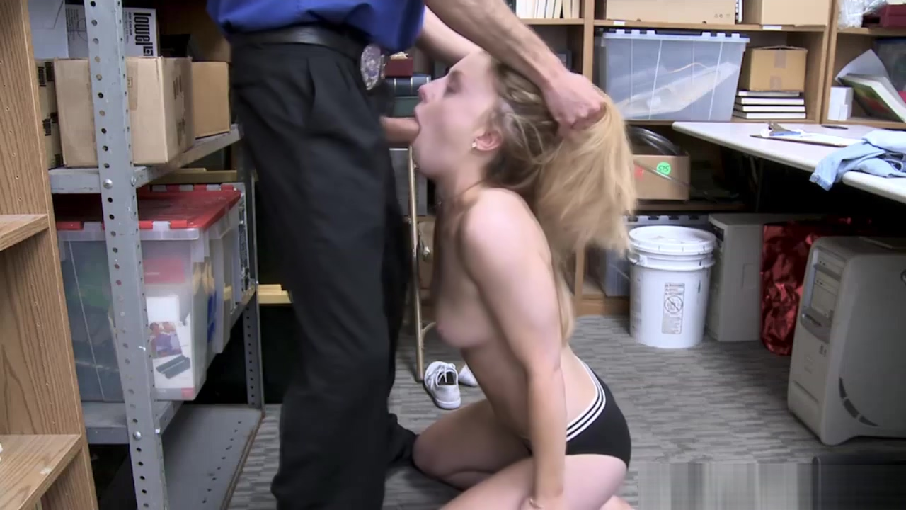 Gorgeous shoplifter Kate Kenzi gets her tight pussy banged by officer Blow job latina street