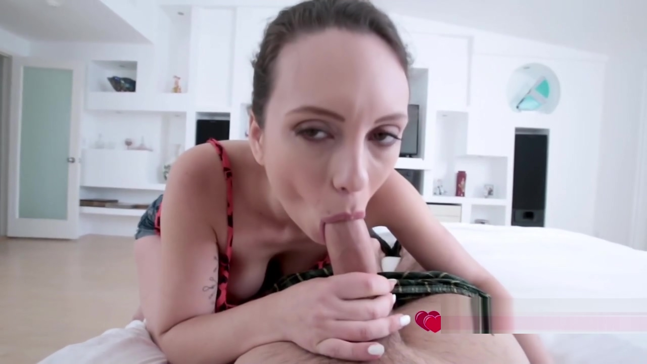 Horny stepsister negotiates a blowjob with kinky stepbrother