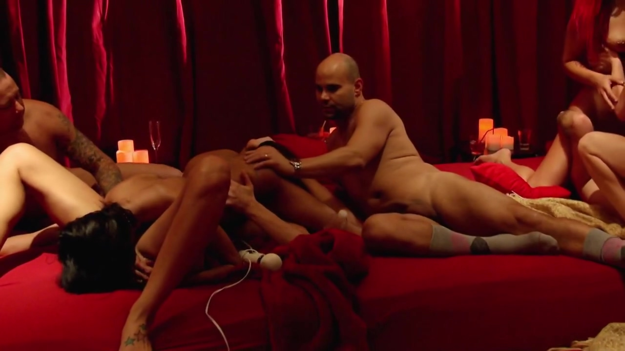 Ashley sucks on cunt while she and husband have a full swap in the red room funny amature porn videos