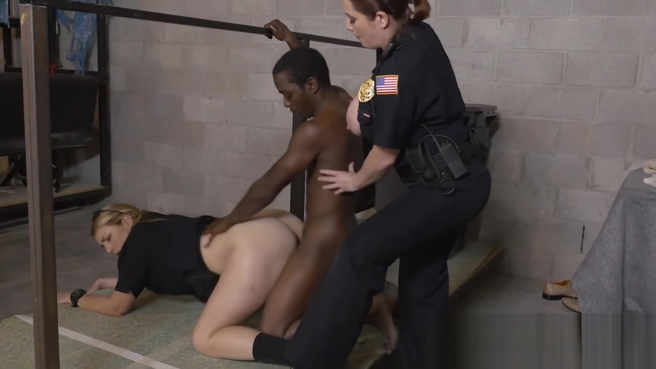 Hardcore interracial threesome with WILDE busty cops In film tarzan fucking her girl photo